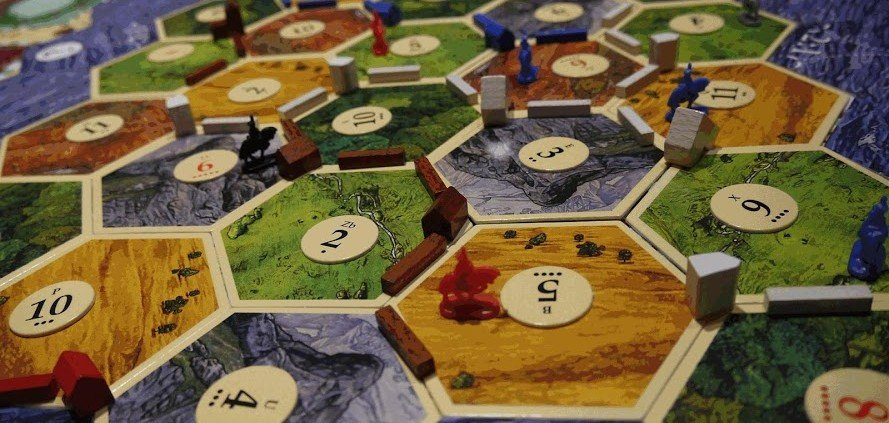 Settlers Of Catan Red Raccoon Games